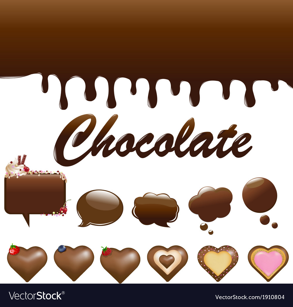 Assortment chocolates vector | Price: 1 Credit (USD $1)