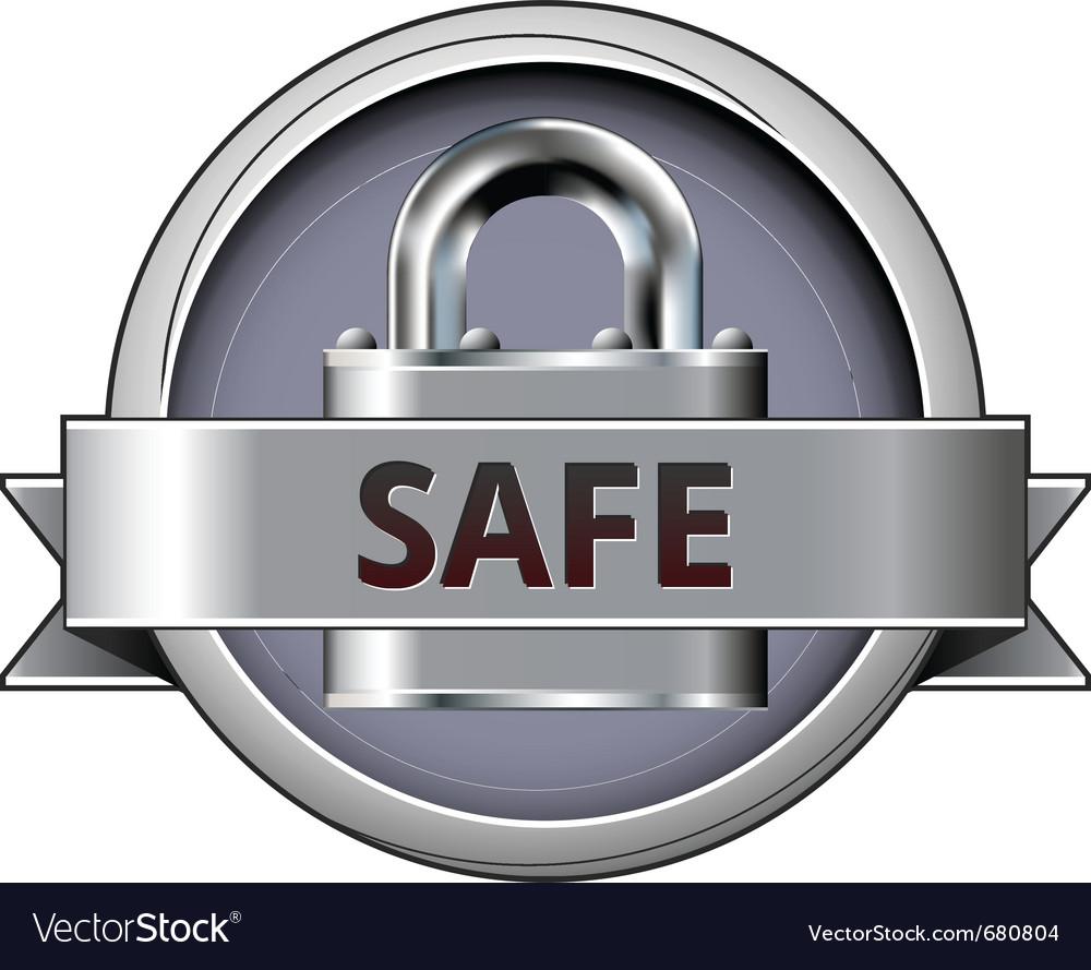 Security lock vector | Price: 1 Credit (USD $1)