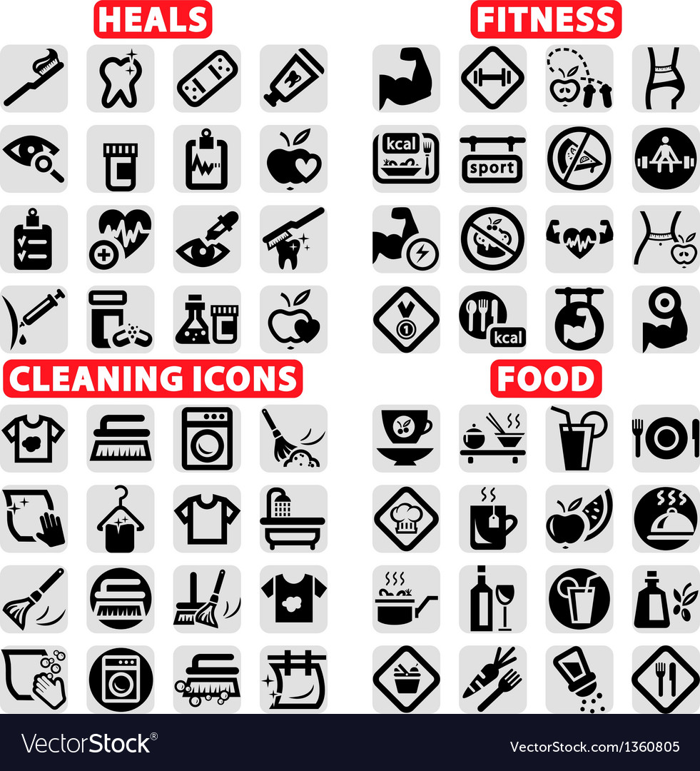 Big web icons set vector | Price: 1 Credit (USD $1)