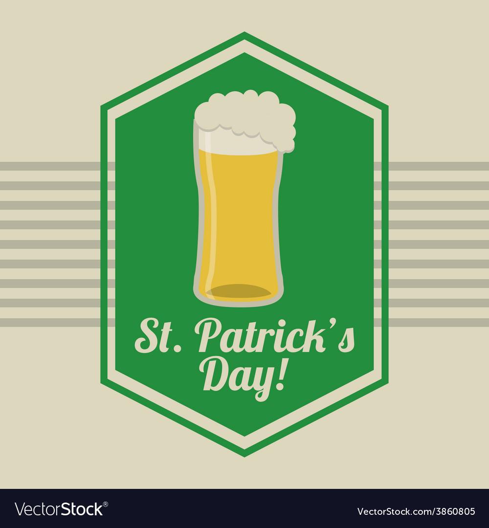 Saint patrick day vector | Price: 1 Credit (USD $1)