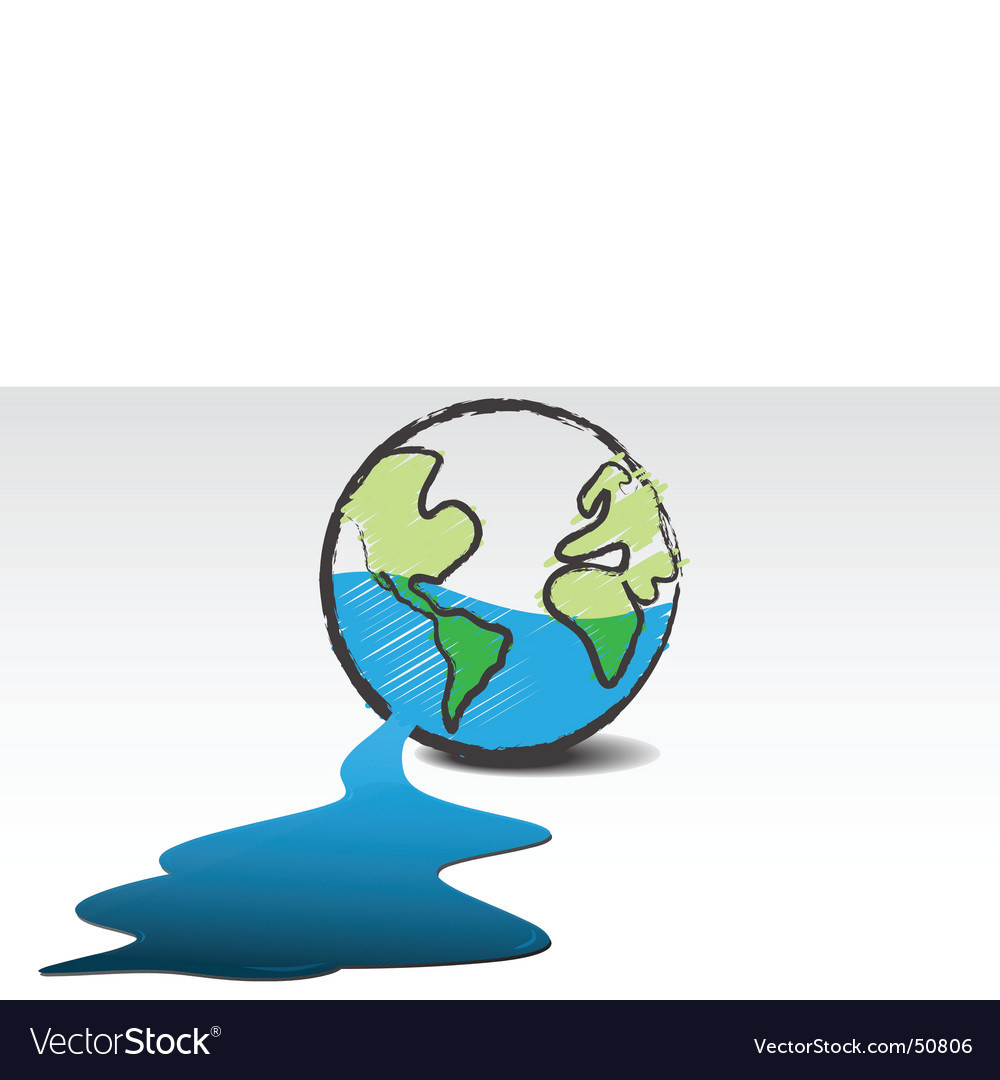 Leaking world vector | Price: 1 Credit (USD $1)