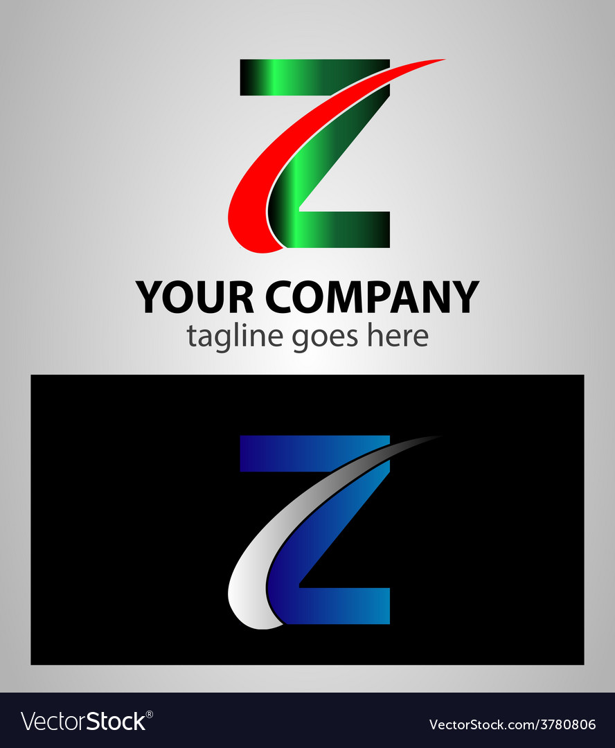 Letter z logo symbol design template elements vector | Price: 1 Credit (USD $1)