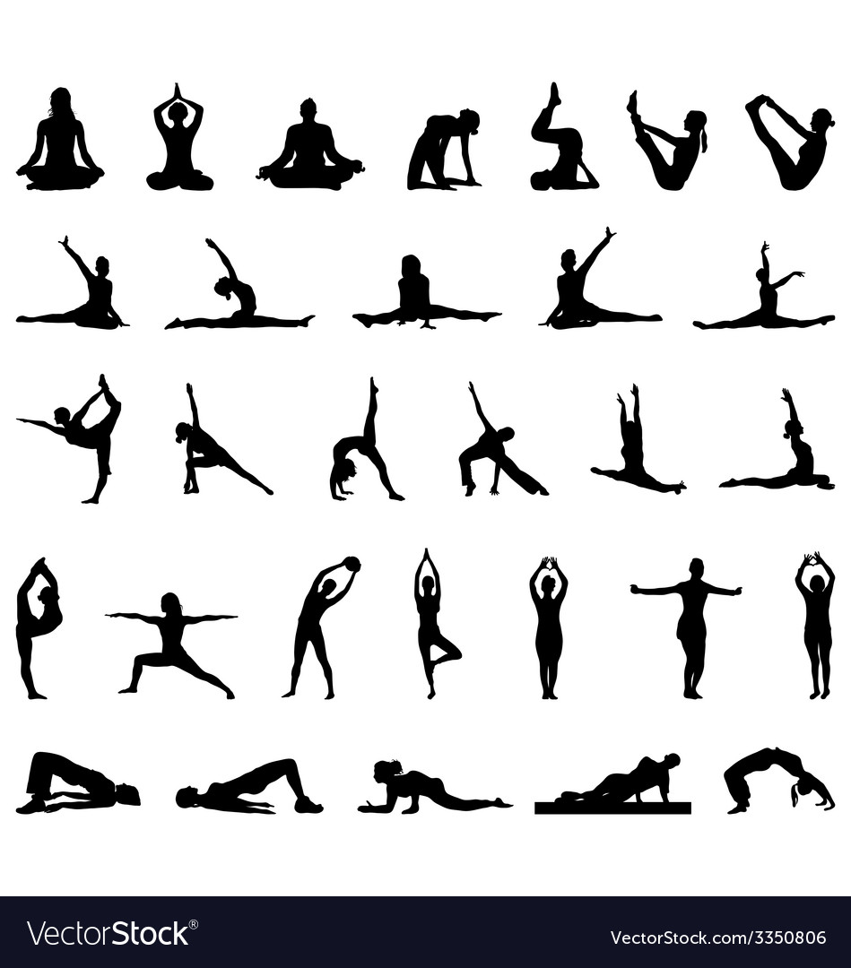 Yoga and fitness vector | Price: 1 Credit (USD $1)