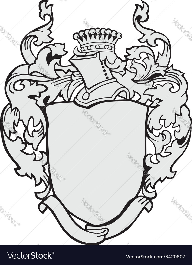 Aristocratic emblem no12 vector | Price: 1 Credit (USD $1)
