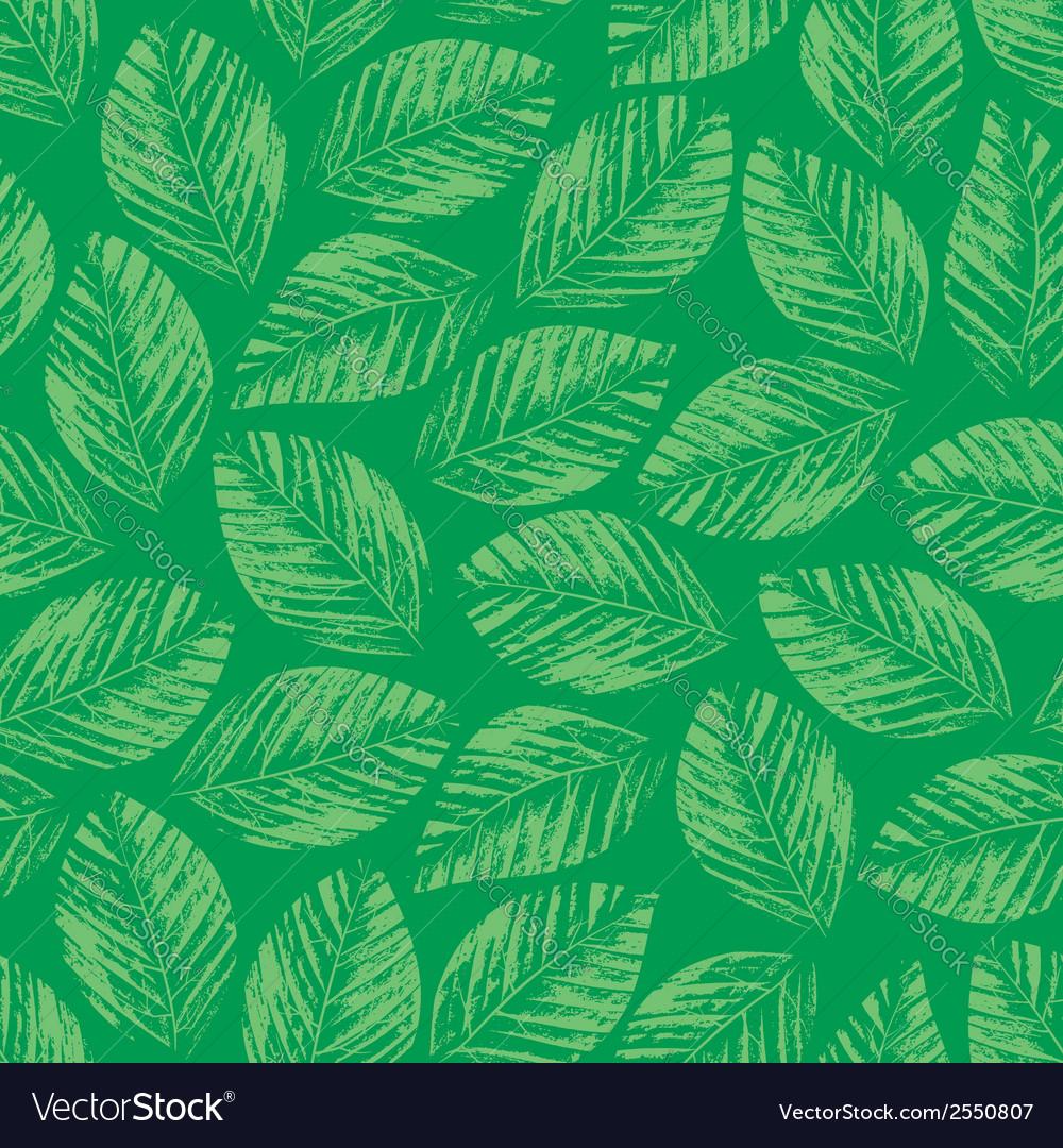 Seamless texture of herbarium leaves vector   Price: 1 Credit (USD $1)