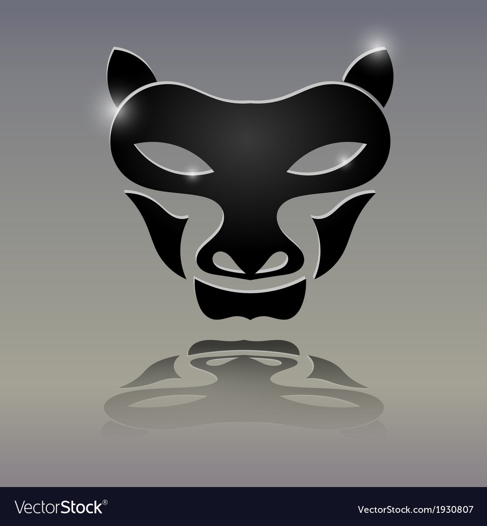 Tattoos in the form of a wolfs head vector | Price: 1 Credit (USD $1)