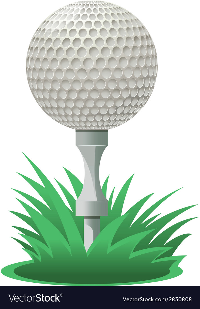 Golf ball vector | Price: 1 Credit (USD $1)