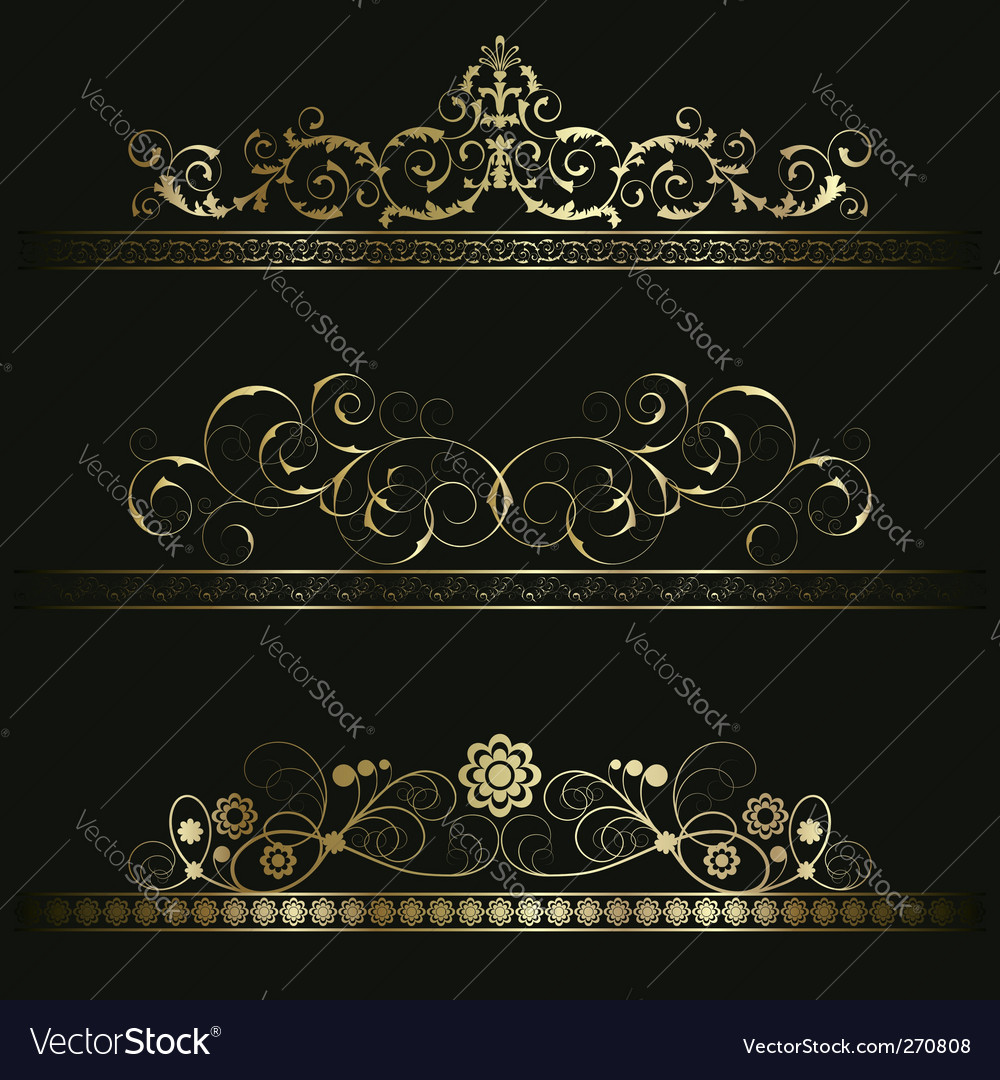 Set from retro frames vector | Price: 1 Credit (USD $1)