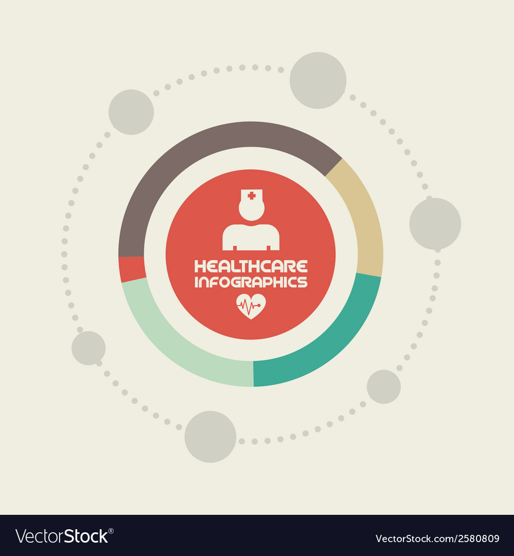 Medical infographic element vector | Price: 1 Credit (USD $1)