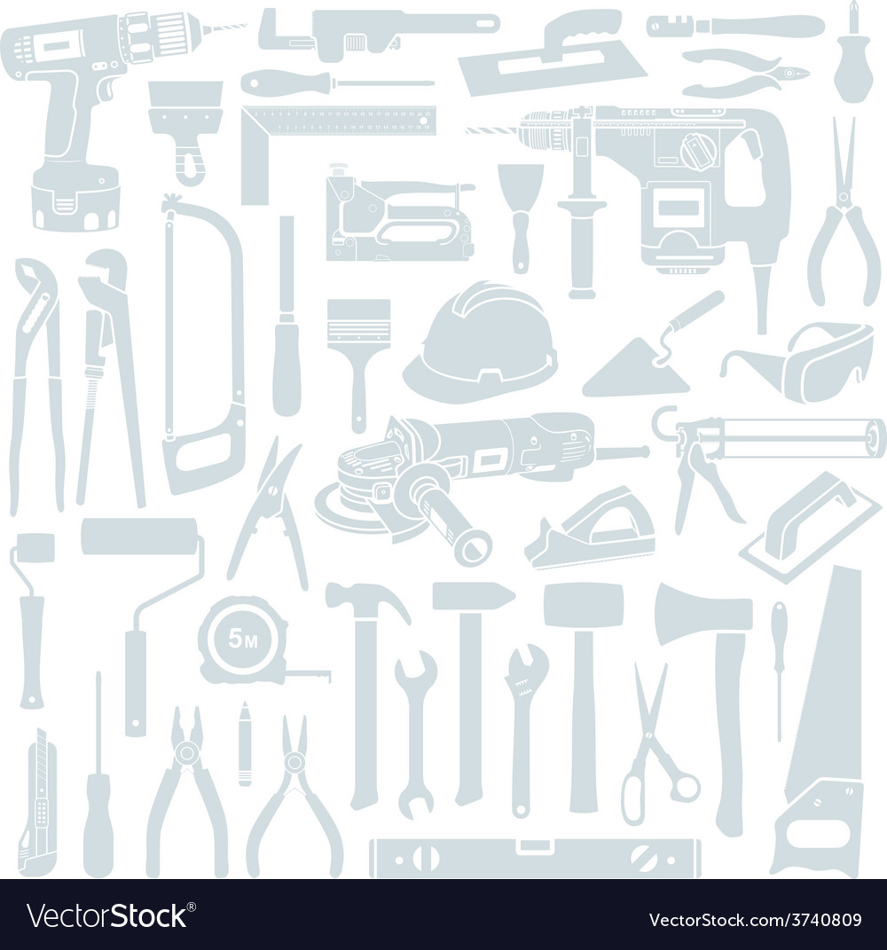 Tool background vector | Price: 1 Credit (USD $1)