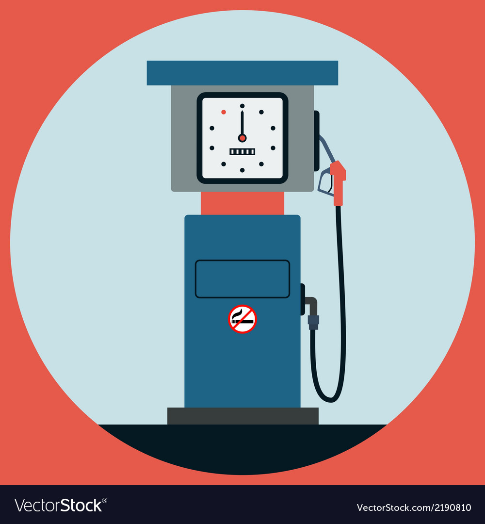 Fuel station pump vector | Price: 1 Credit (USD $1)