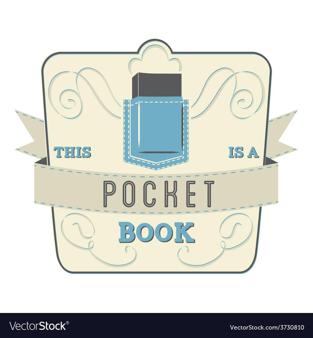 Pocket book vector | Price: 1 Credit (USD $1)