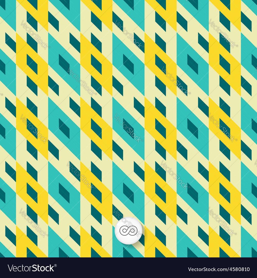 Seamless mosaic pattern geometric background vector   Price: 1 Credit (USD $1)