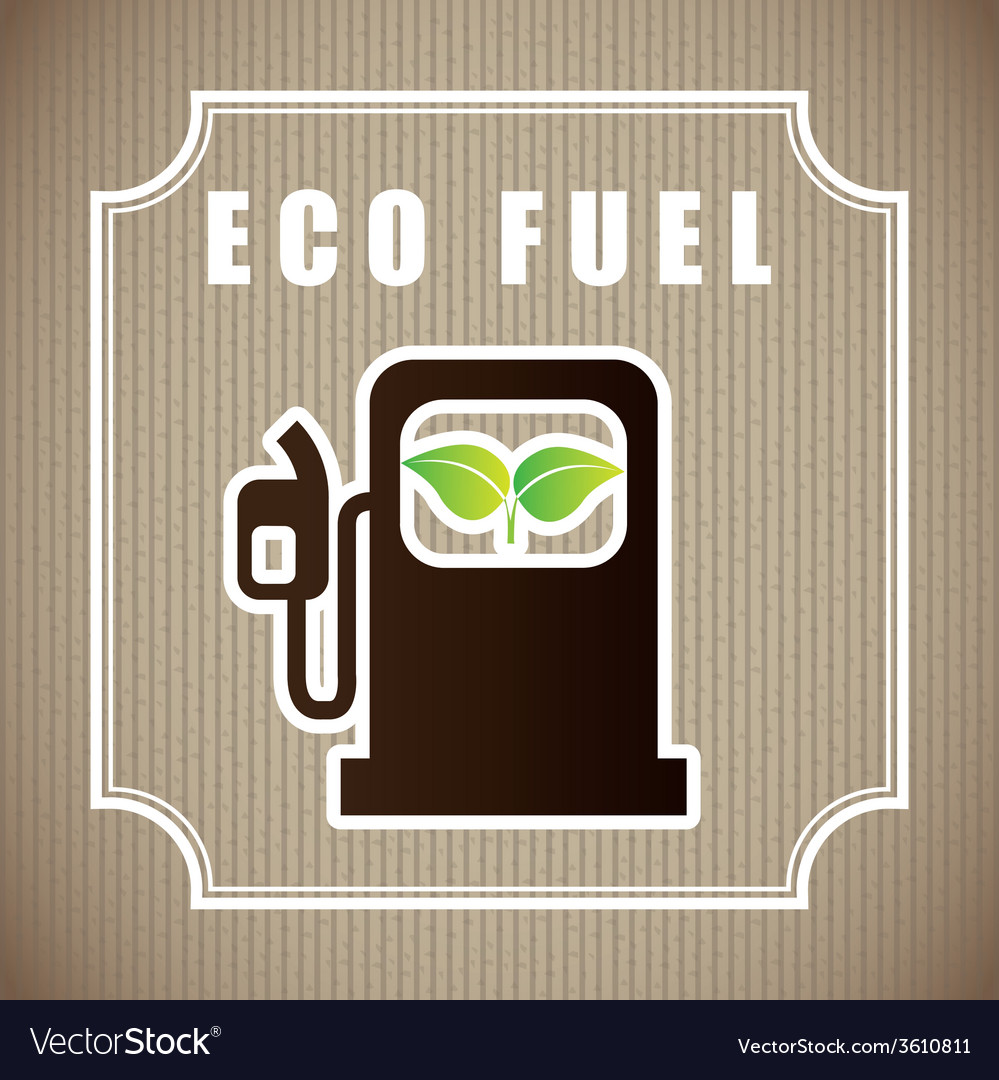 Eco fuel vector | Price: 1 Credit (USD $1)