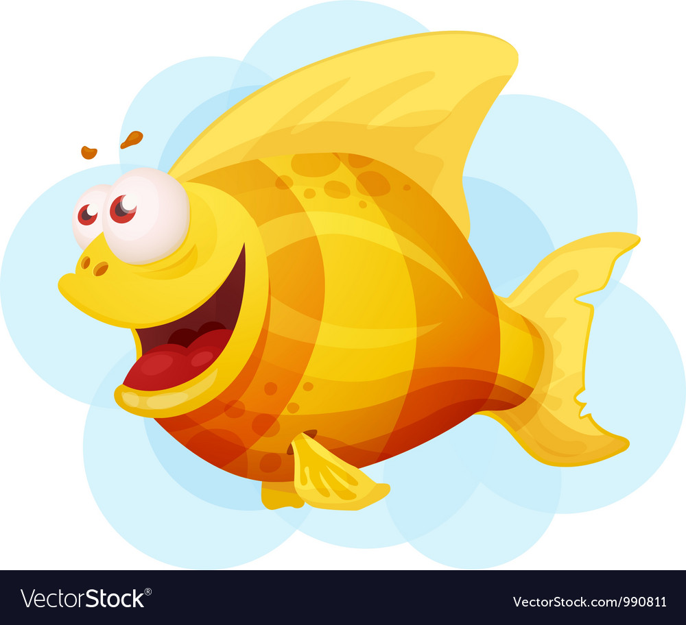 Goldfish vector | Price: 3 Credit (USD $3)