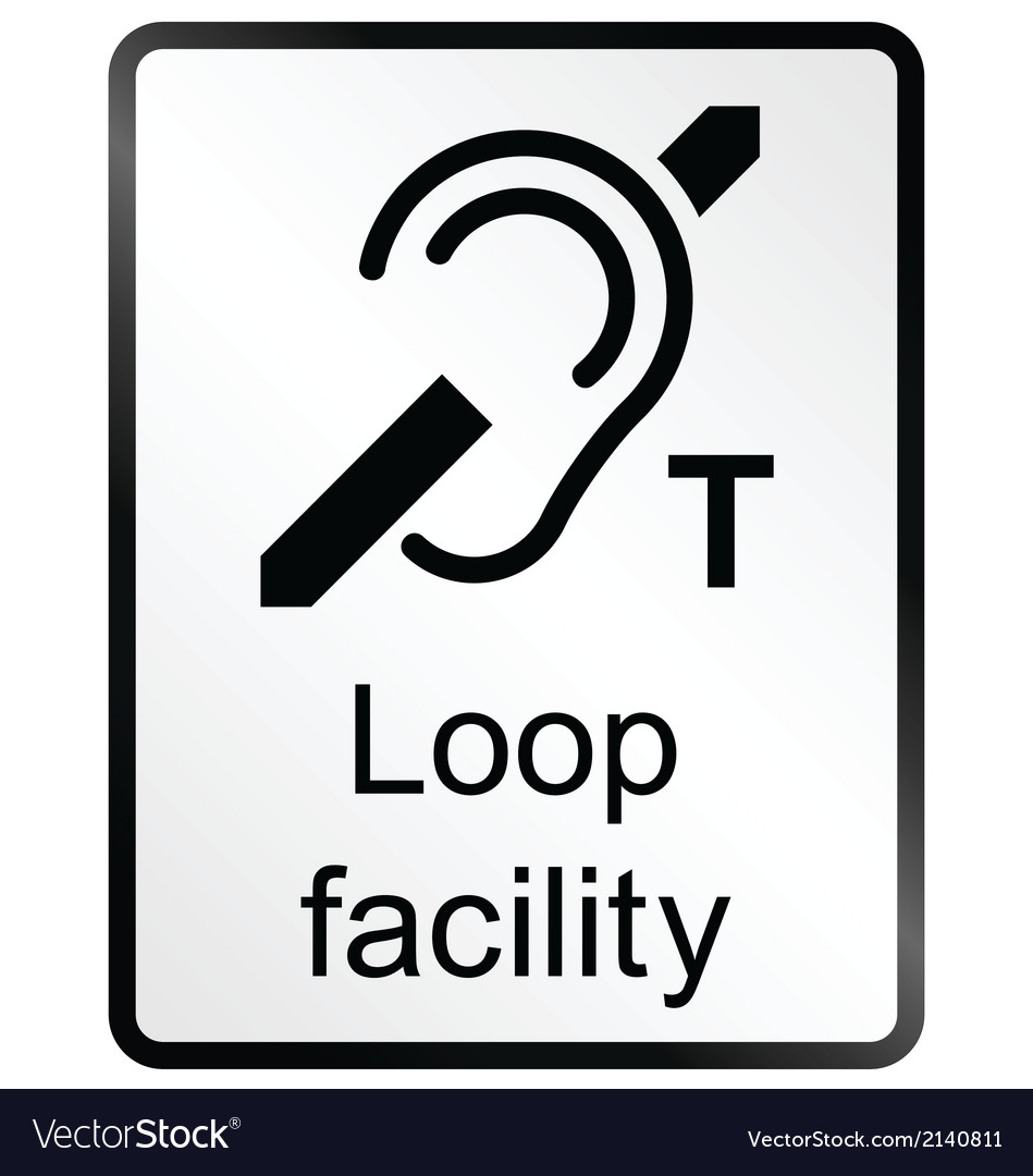Loop facility information sign vector | Price: 1 Credit (USD $1)