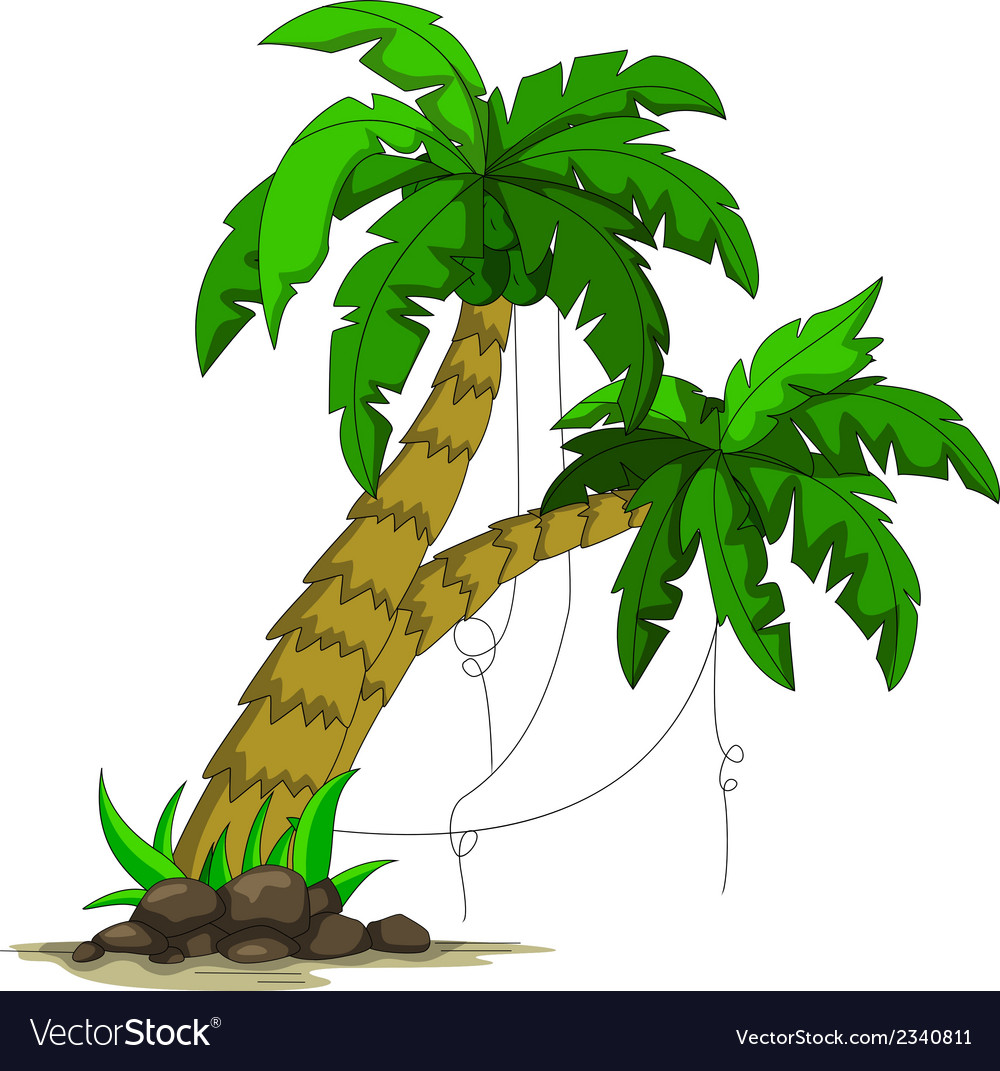 Palm tree design vector | Price: 1 Credit (USD $1)