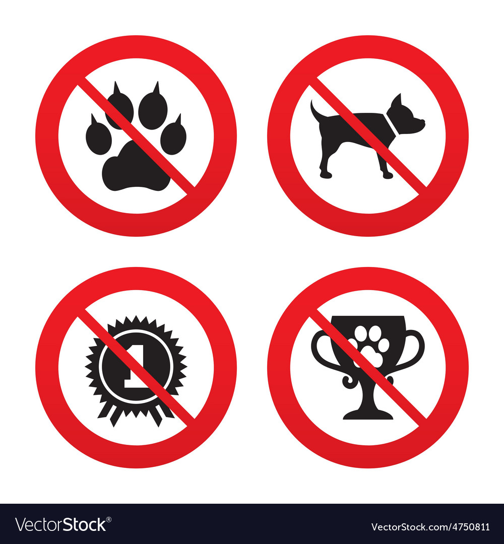 Pets icons cat paw with clutches sign vector | Price: 1 Credit (USD $1)