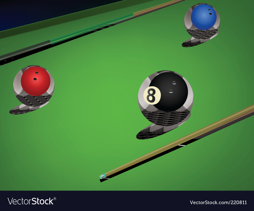 Snooker vector | Price: 1 Credit (USD $1)