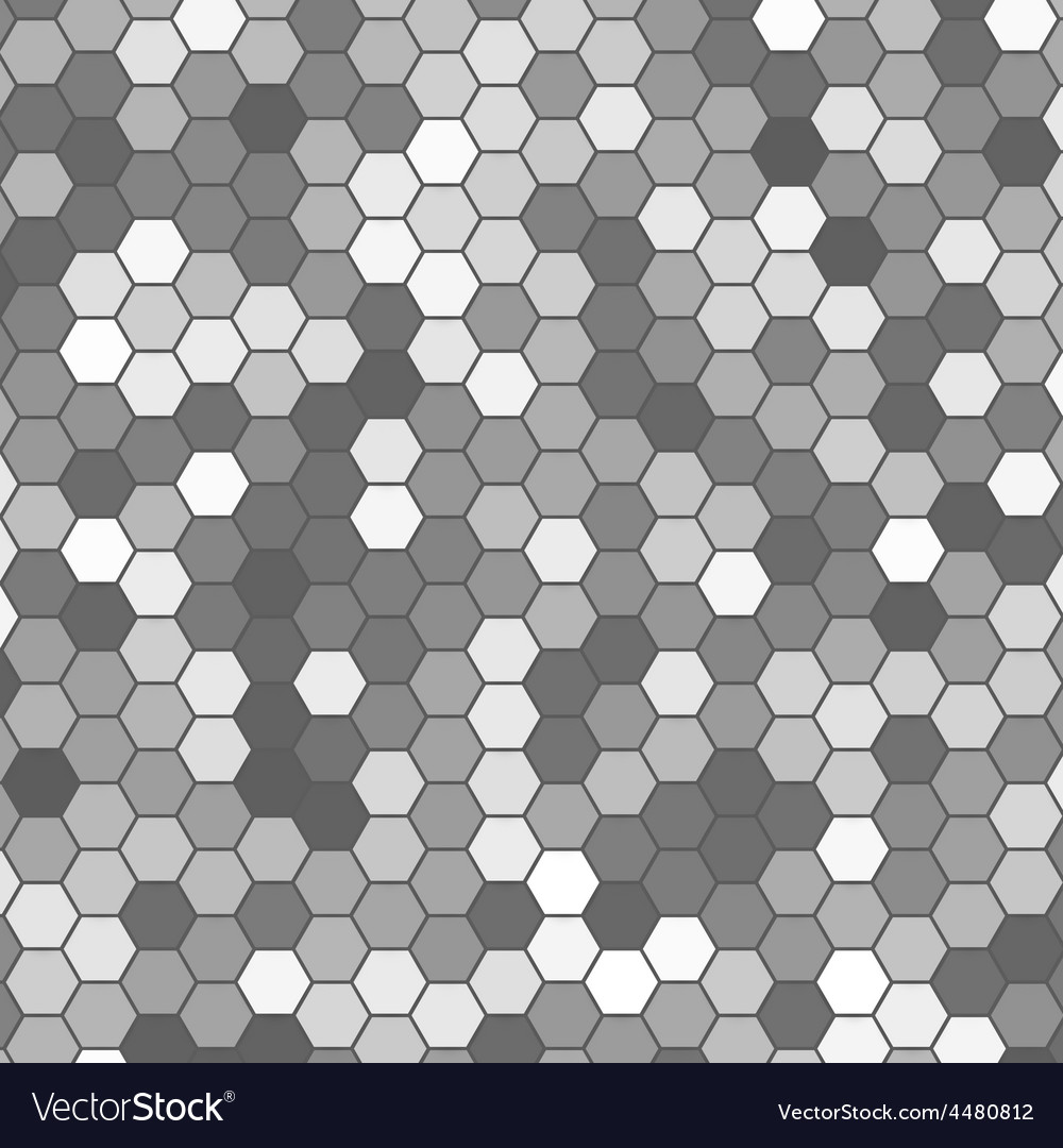 Abstract 3d hexagonal vector | Price: 1 Credit (USD $1)