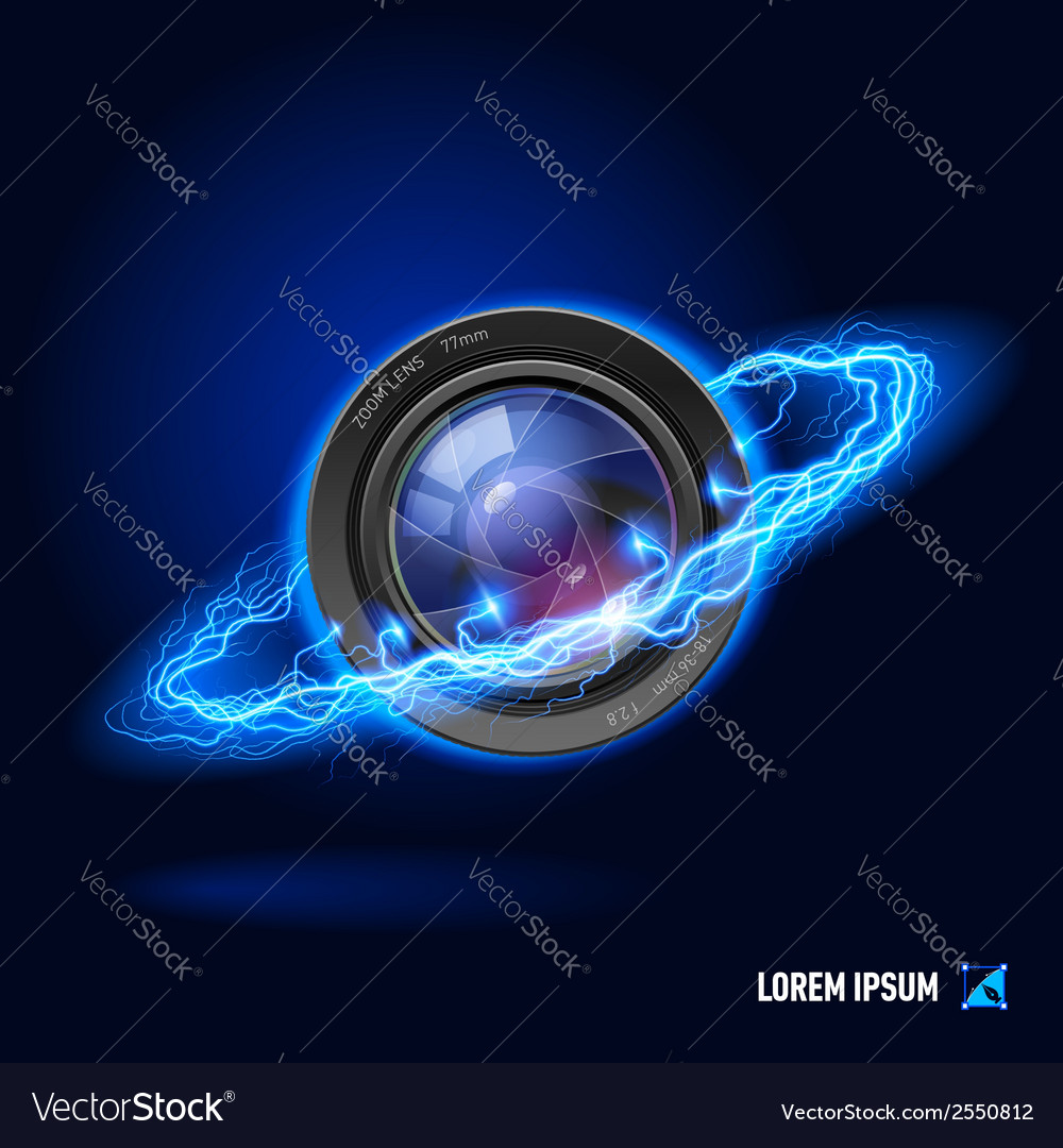Photography high voltage vector | Price: 1 Credit (USD $1)
