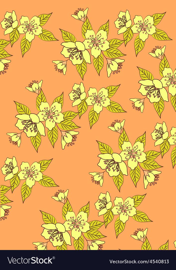 Banner sakura  spring vector | Price: 1 Credit (USD $1)