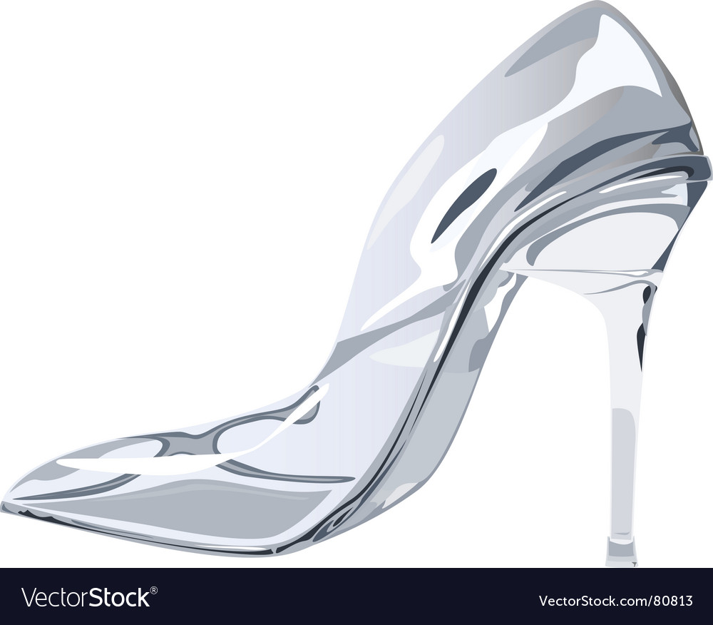 Glass slipper vector | Price: 1 Credit (USD $1)