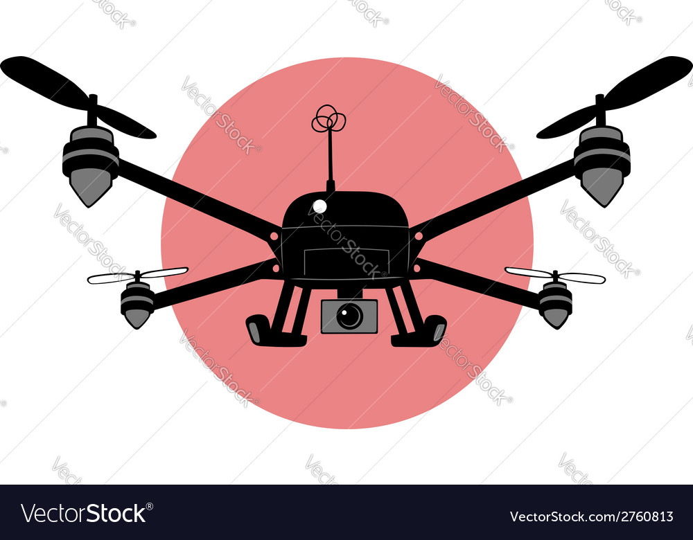 Quadcopter vector | Price: 1 Credit (USD $1)