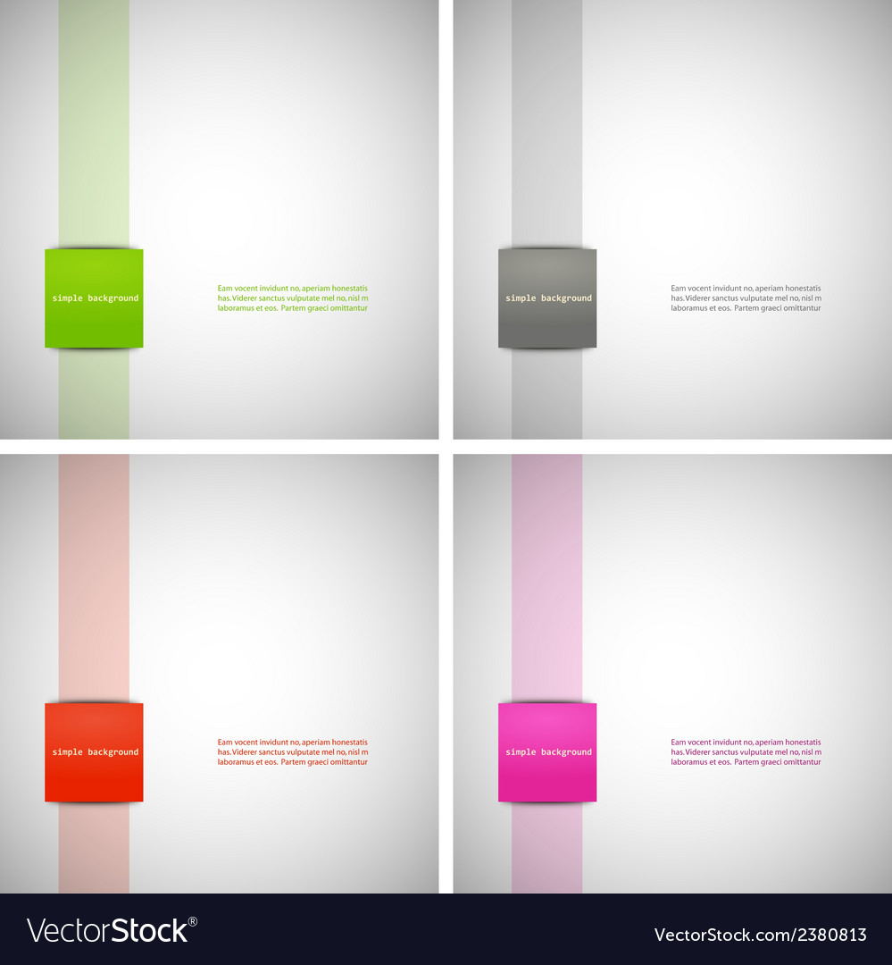 Set of simple backgrounds with colored dies eps vector | Price: 1 Credit (USD $1)