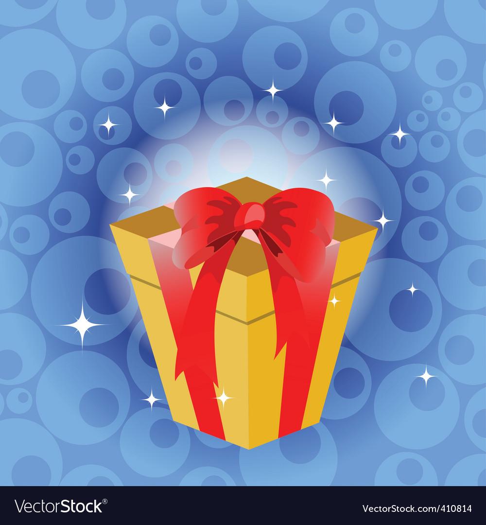 Birthday gift vector | Price: 1 Credit (USD $1)