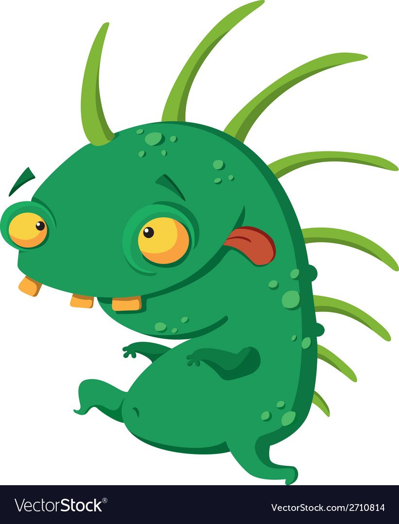 Crazy monster vector | Price: 1 Credit (USD $1)