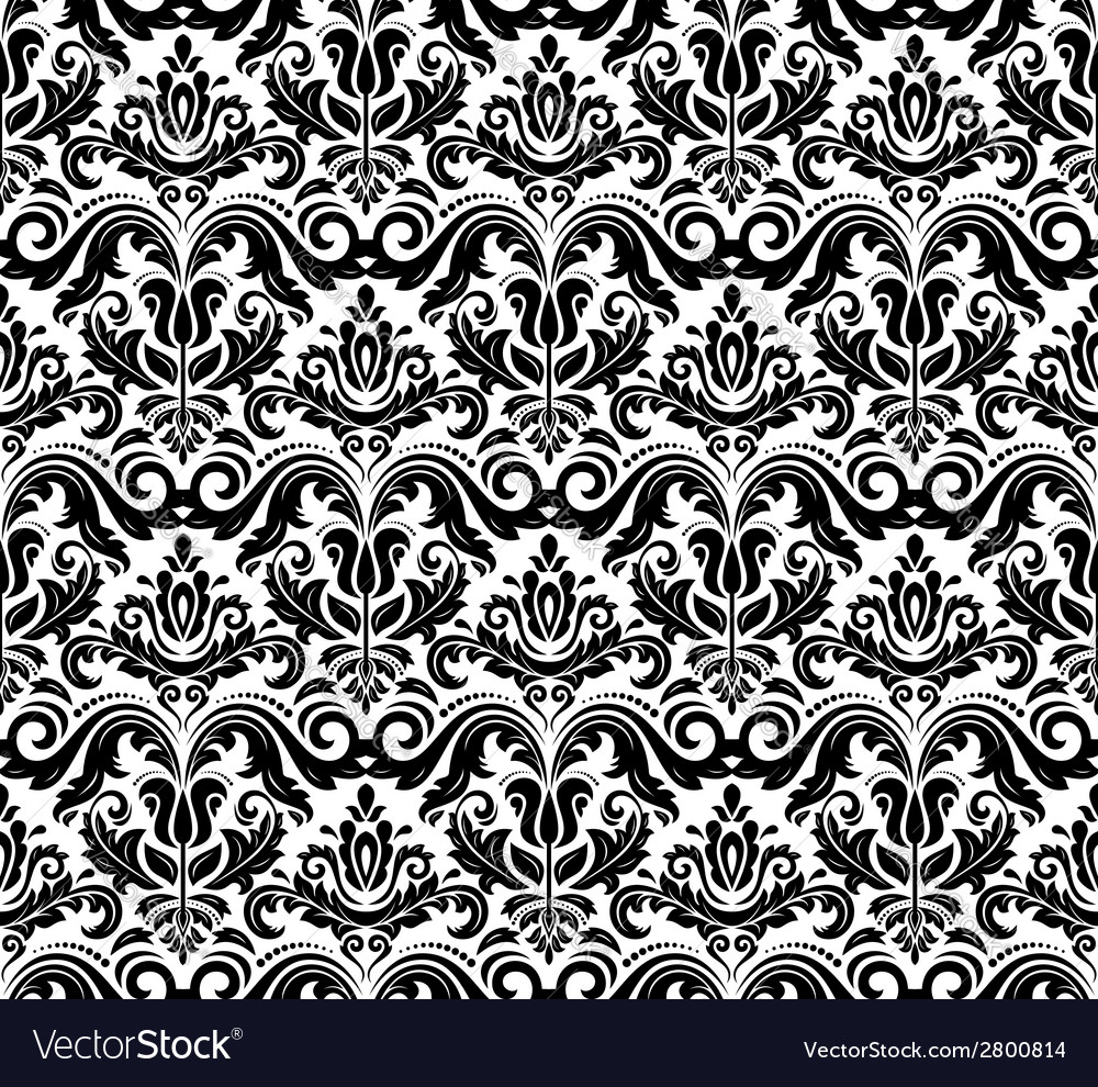 Orient seamless pattern abstract background vector | Price: 1 Credit (USD $1)
