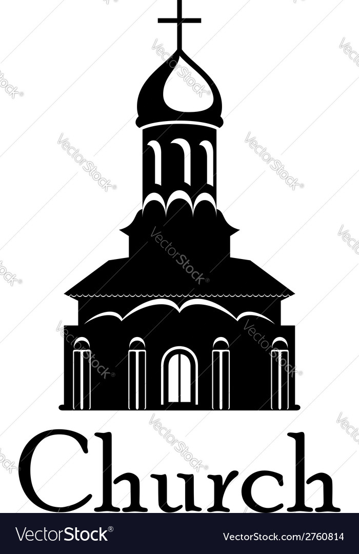 Religious temple or church vector | Price: 1 Credit (USD $1)