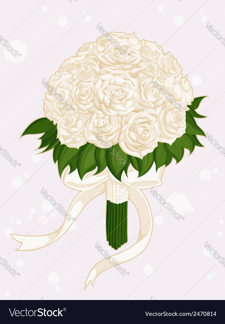 Wedding flower bouquet vector | Price: 1 Credit (USD $1)