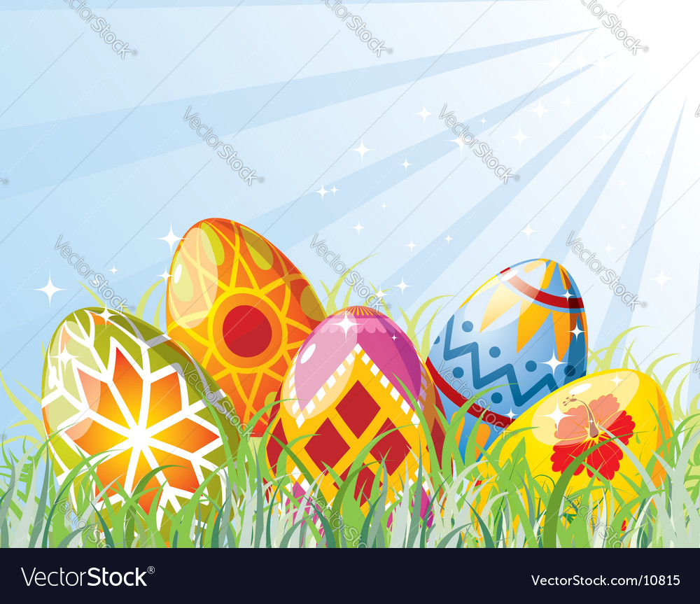Background easter vector | Price: 3 Credit (USD $3)