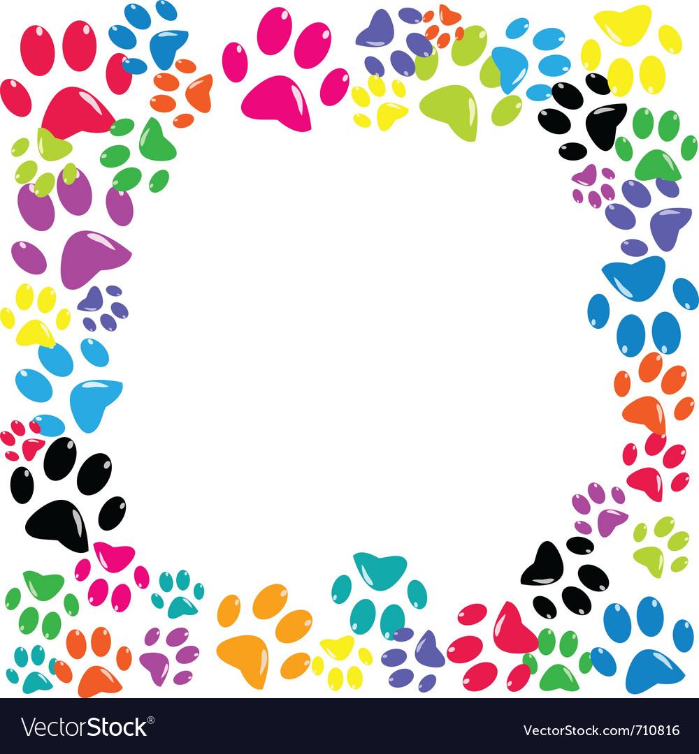 Animal paws vector | Price: 1 Credit (USD $1)