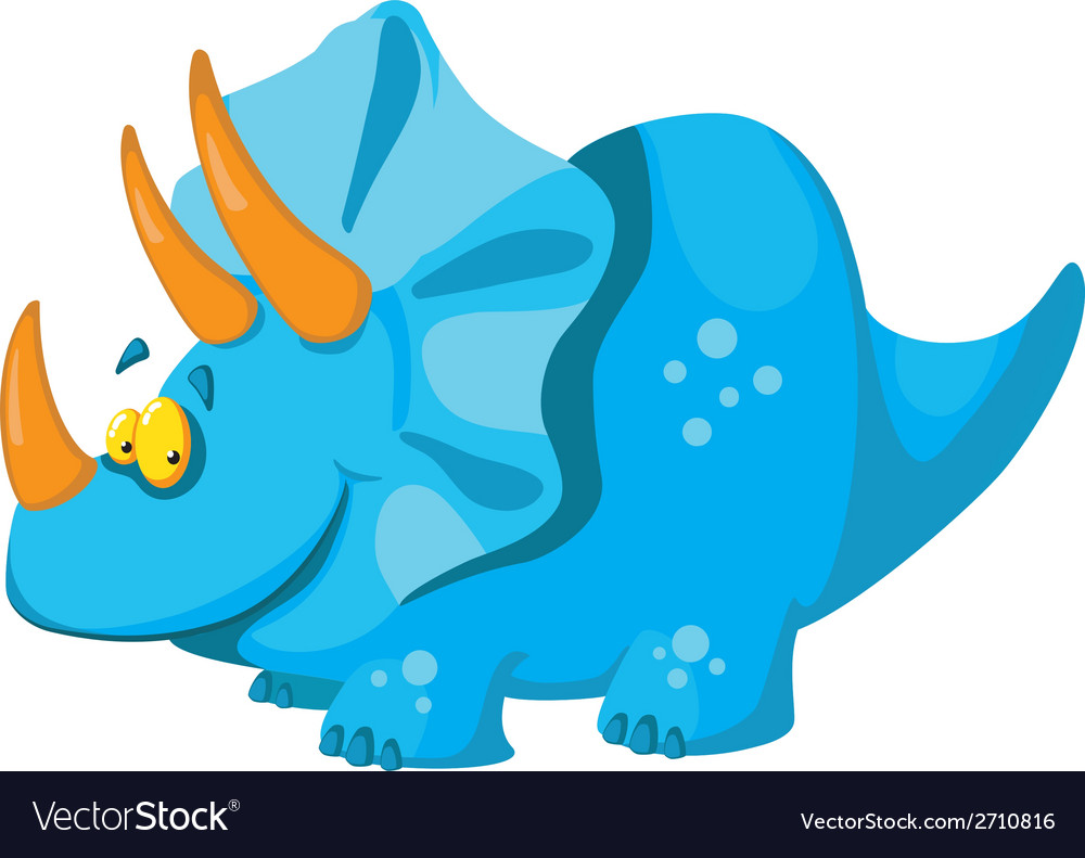 Cute dinosaur vector | Price: 1 Credit (USD $1)