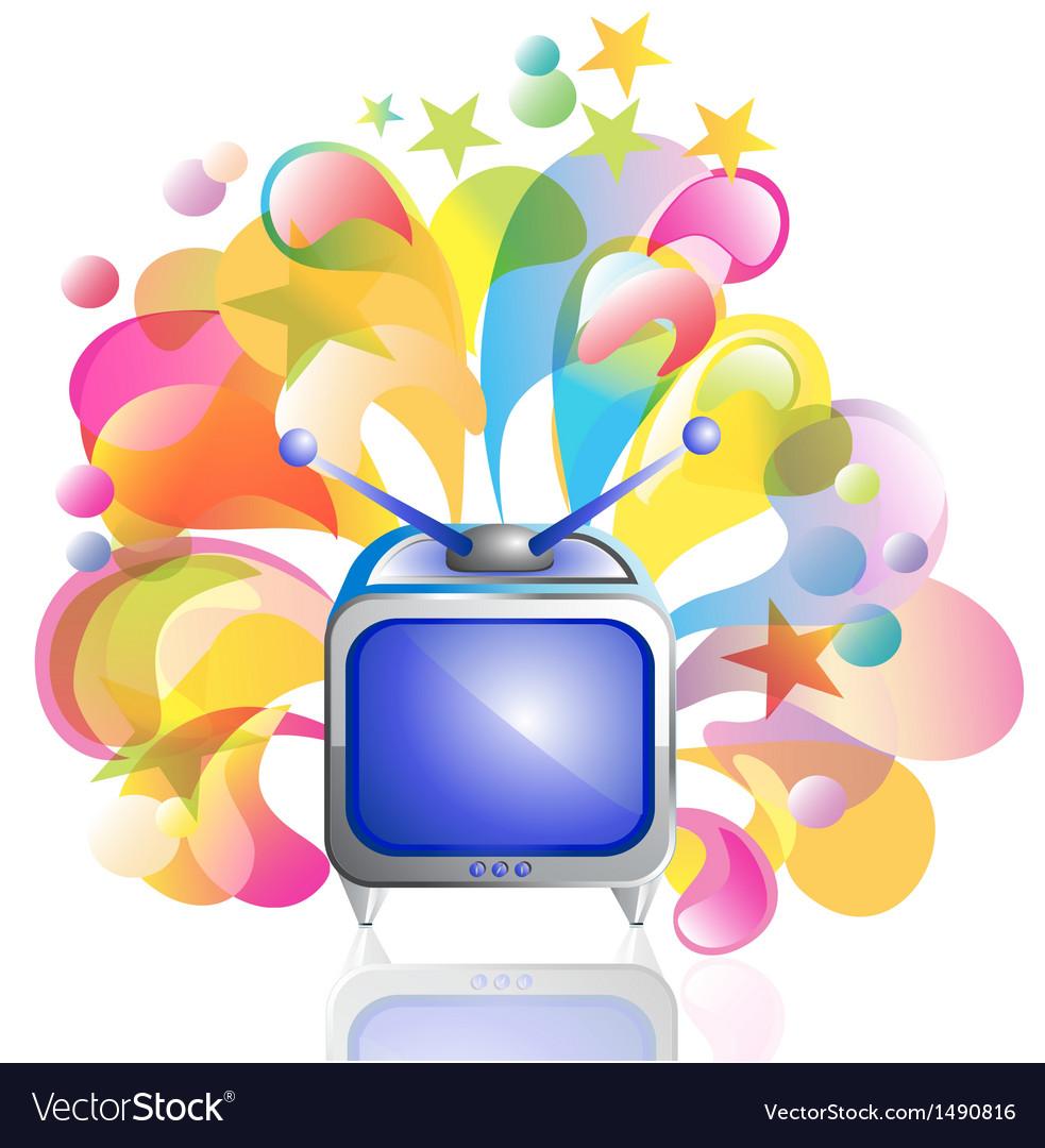Tv icon vector | Price: 1 Credit (USD $1)