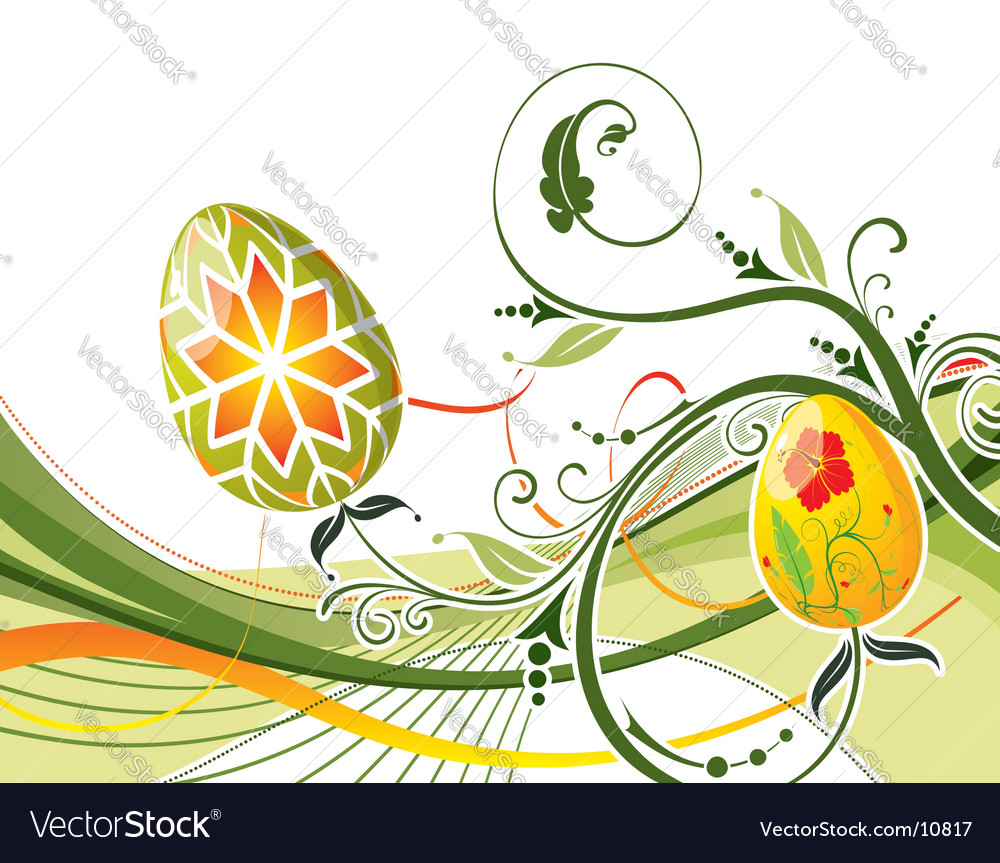 Background easter vector | Price: 1 Credit (USD $1)