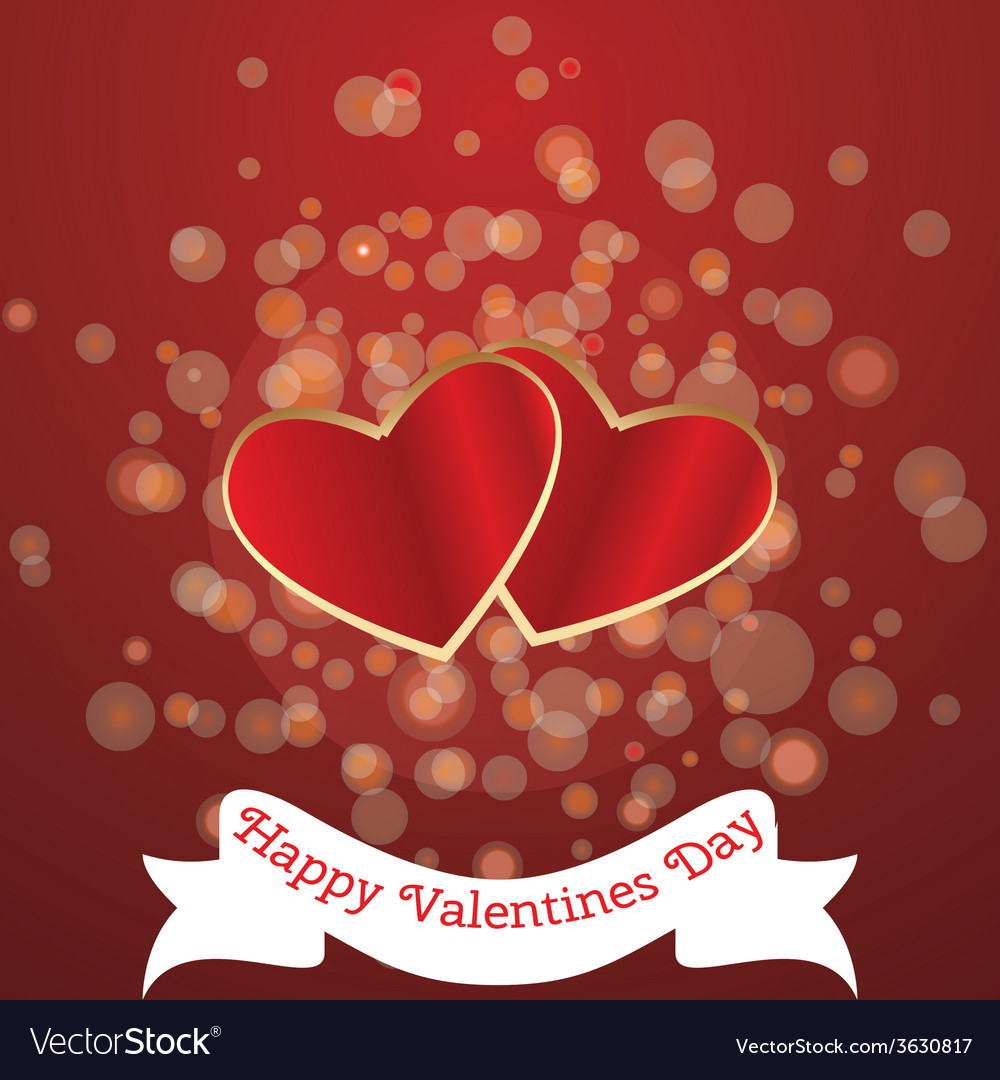 Card for valentines day vector | Price: 1 Credit (USD $1)