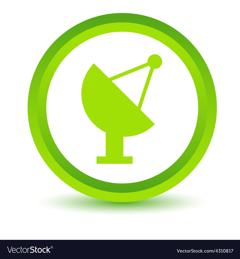 Green locator icon vector | Price: 1 Credit (USD $1)