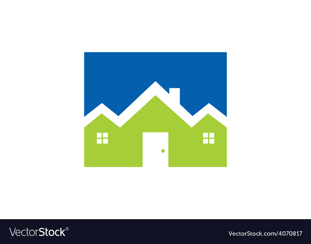Home resident logo vector | Price: 1 Credit (USD $1)