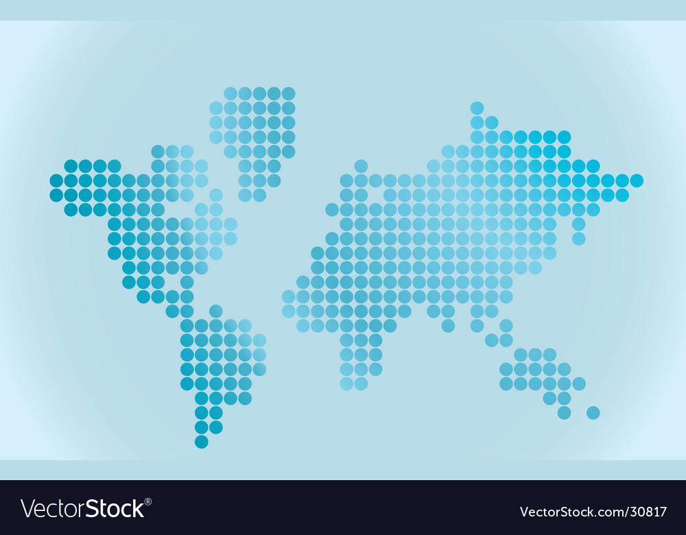 Map of world vector | Price: 1 Credit (USD $1)