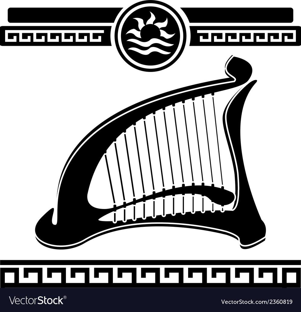 Ancient harp vector   Price: 1 Credit (USD $1)