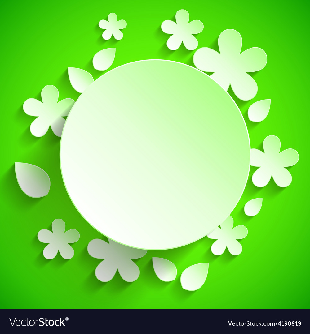 Green banner vector | Price: 1 Credit (USD $1)