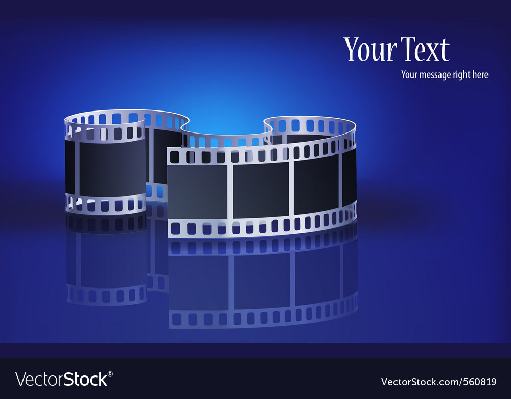 Modern film vector | Price: 3 Credit (USD $3)