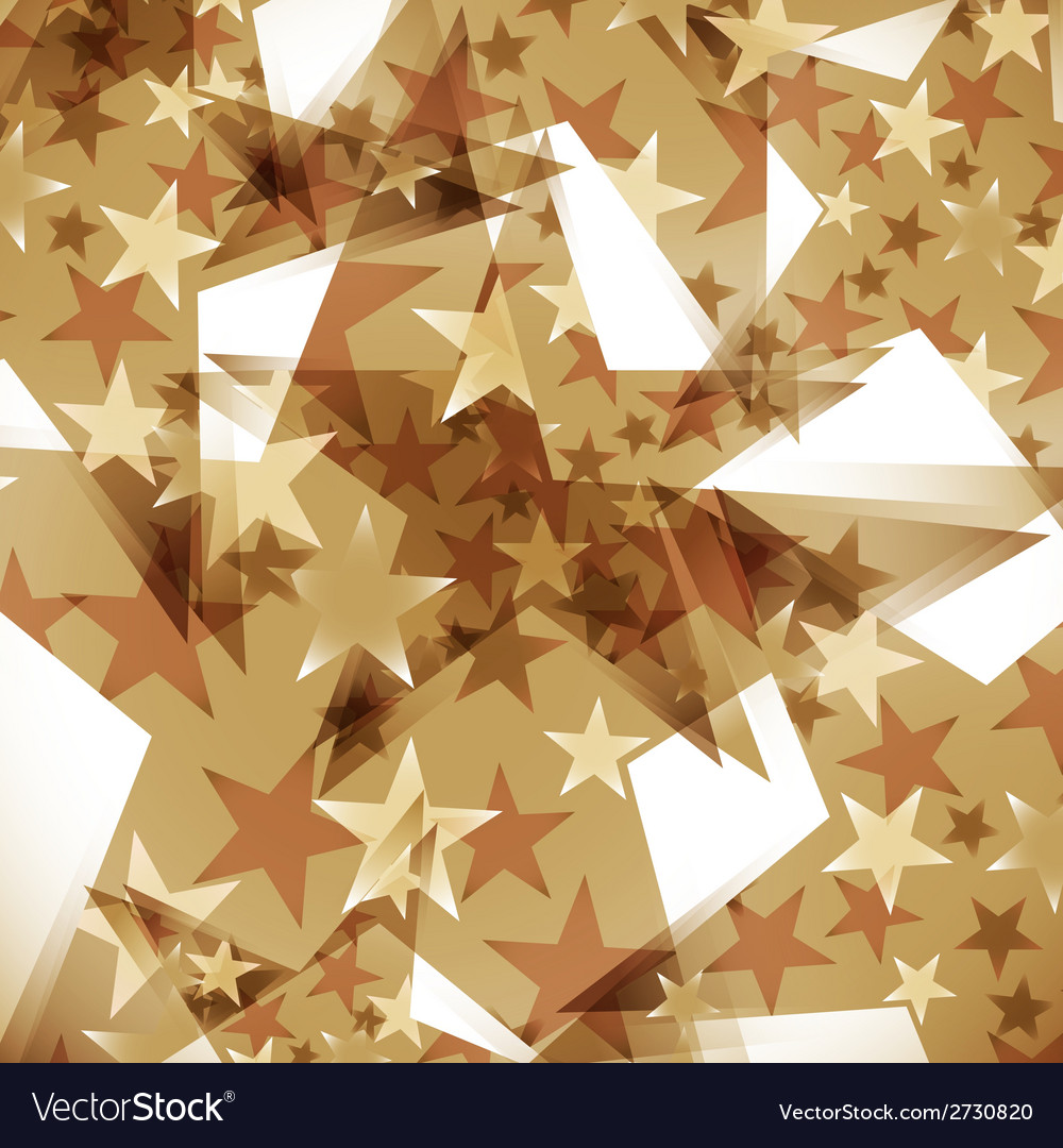 Background decorated stars vector | Price: 1 Credit (USD $1)