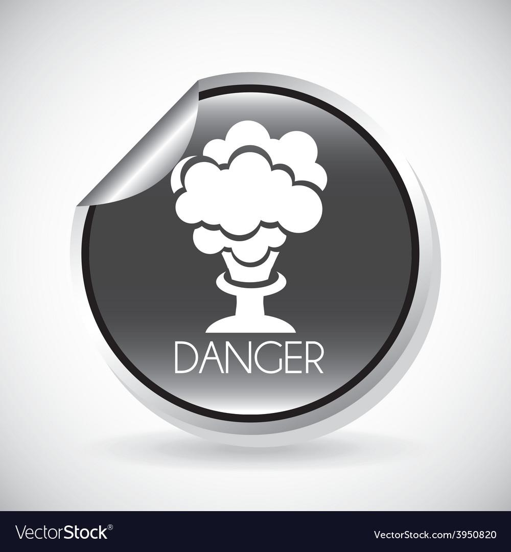 Danger sign vector | Price: 1 Credit (USD $1)