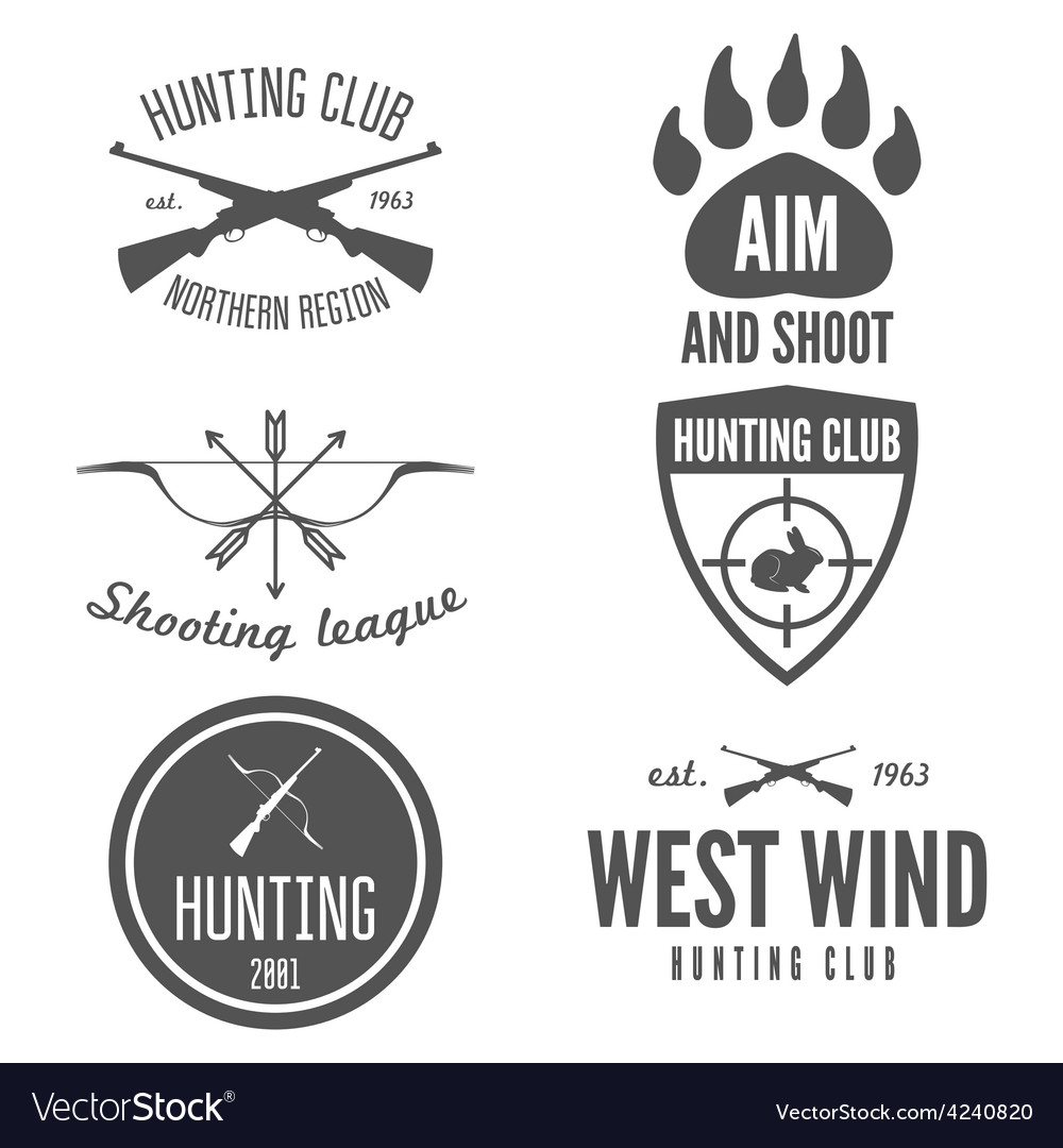 Set of logo sticker badge emblem label print vector | Price: 1 Credit (USD $1)