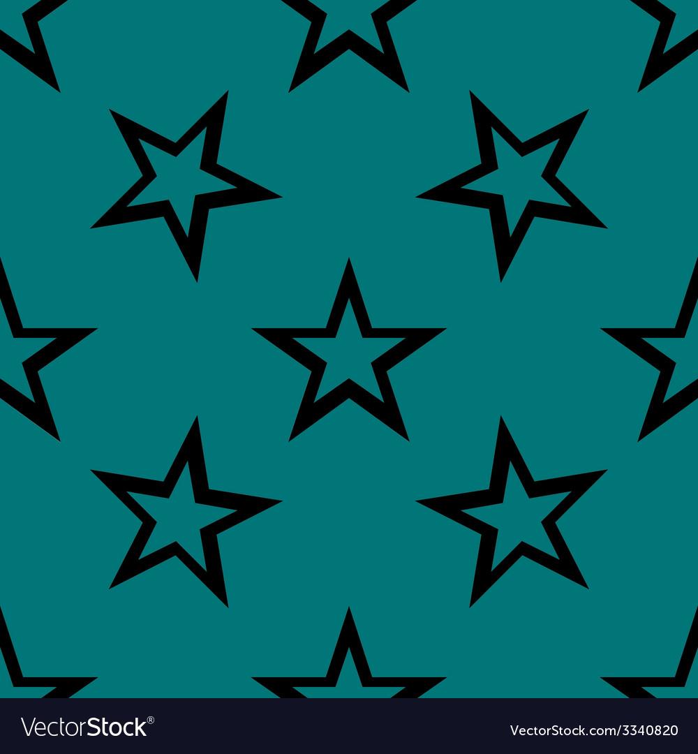 Star web icon flat design seamless gray pattern vector | Price: 1 Credit (USD $1)